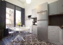 Barcelona Apartment Kitchen
