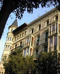Barcelona Apartments Facade
